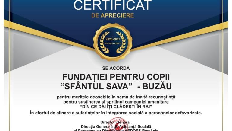 Certificate de apreciere